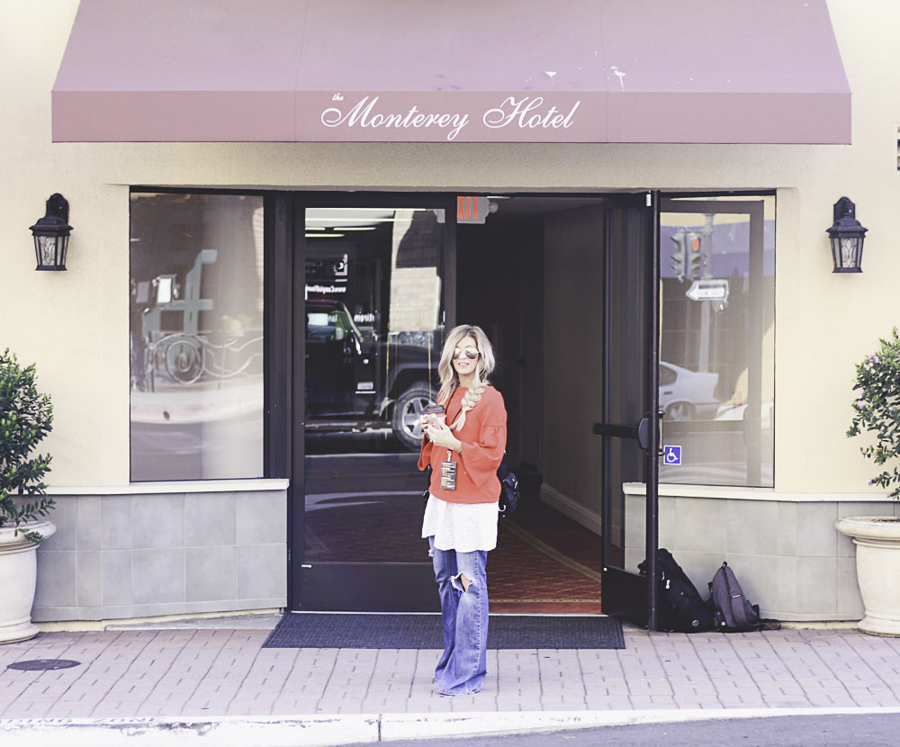 monterey and real life   meg marie Wallace   Monterey Hotel   Carmel