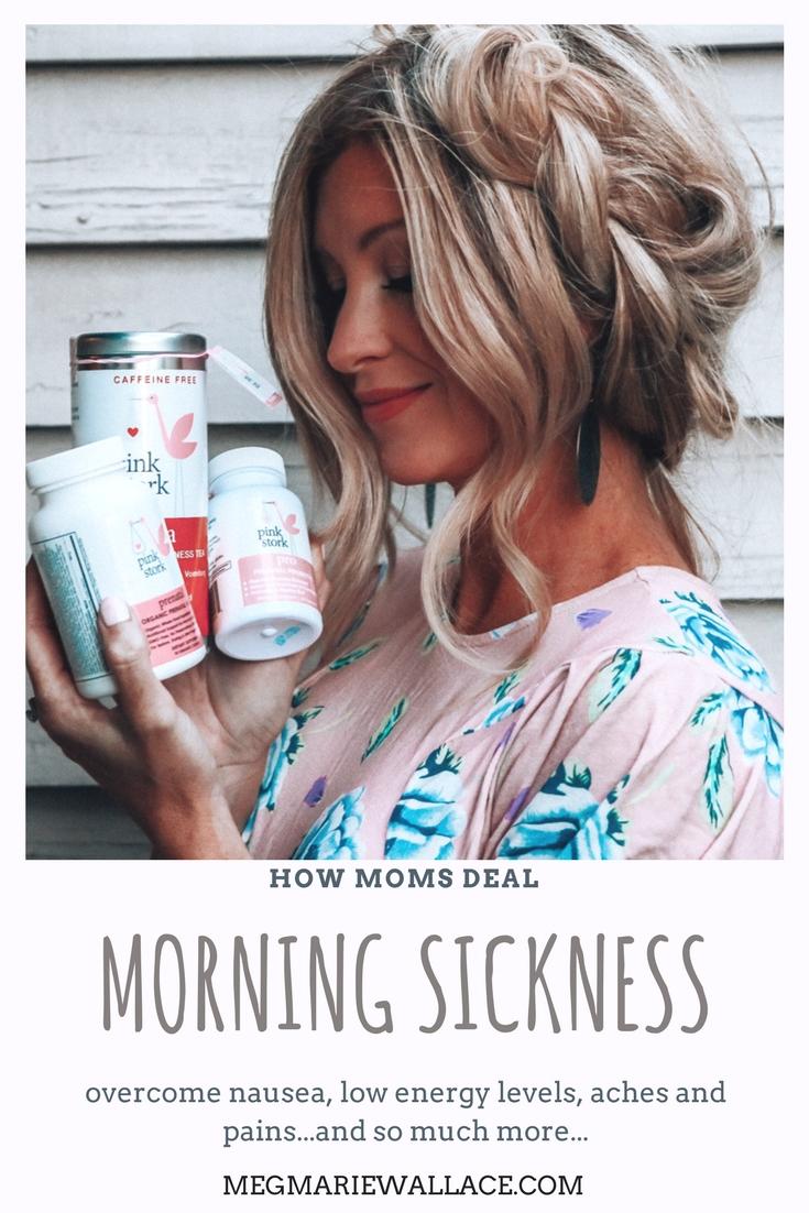 morning sickness   pregnancy nausea   hymeremesis   pink stork   meg marie wallace