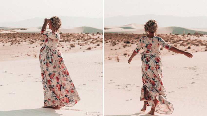 shop pink blush maternity style | maternity clothes | baby bump style | meg marie wallace | floral maternity dress