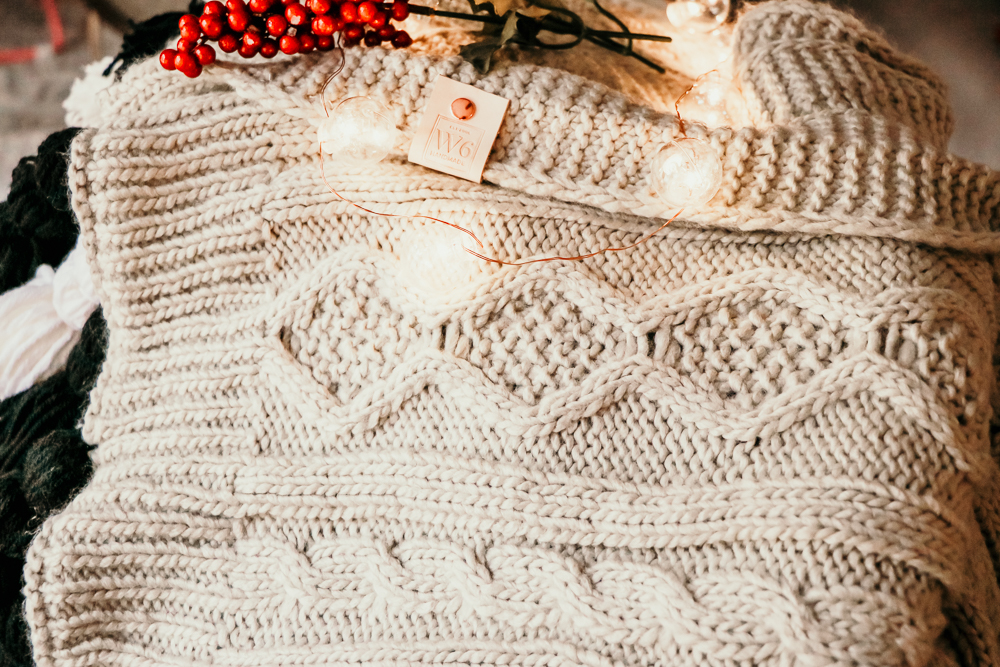 the Dancer Sweater Blanket | Meg Marie Wallace | W6 Christmas Shop