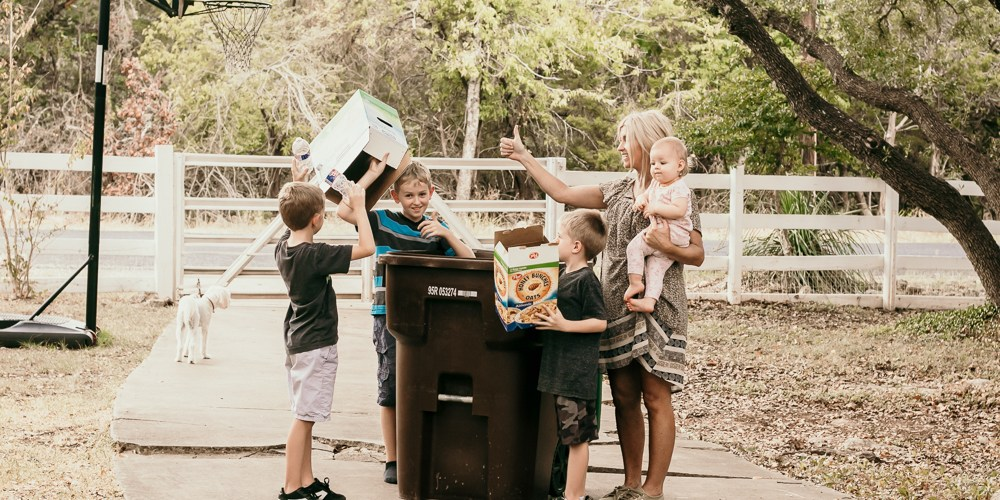 Big Family Recycling Made Simple: the do's and dont's