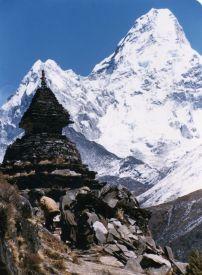 Ama Dablam, en route Everest Base Camp