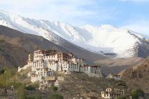 Likir Monastery at dusk