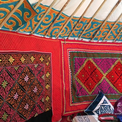 How would you like these Kazakh tapestries hangings on your wall?