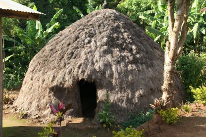Traditional Chagga home in Marangu