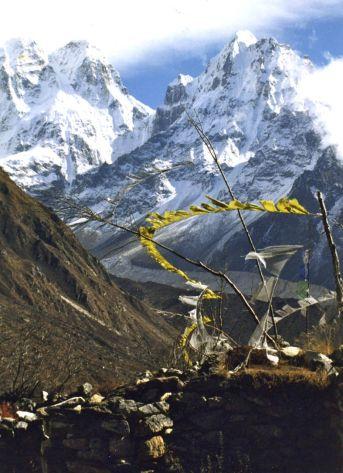 Jannu Glacier, Kangchenjunga trek