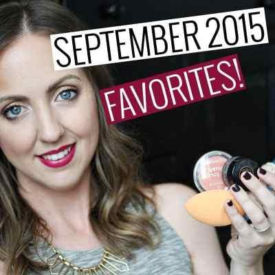 September 2015 Favorites