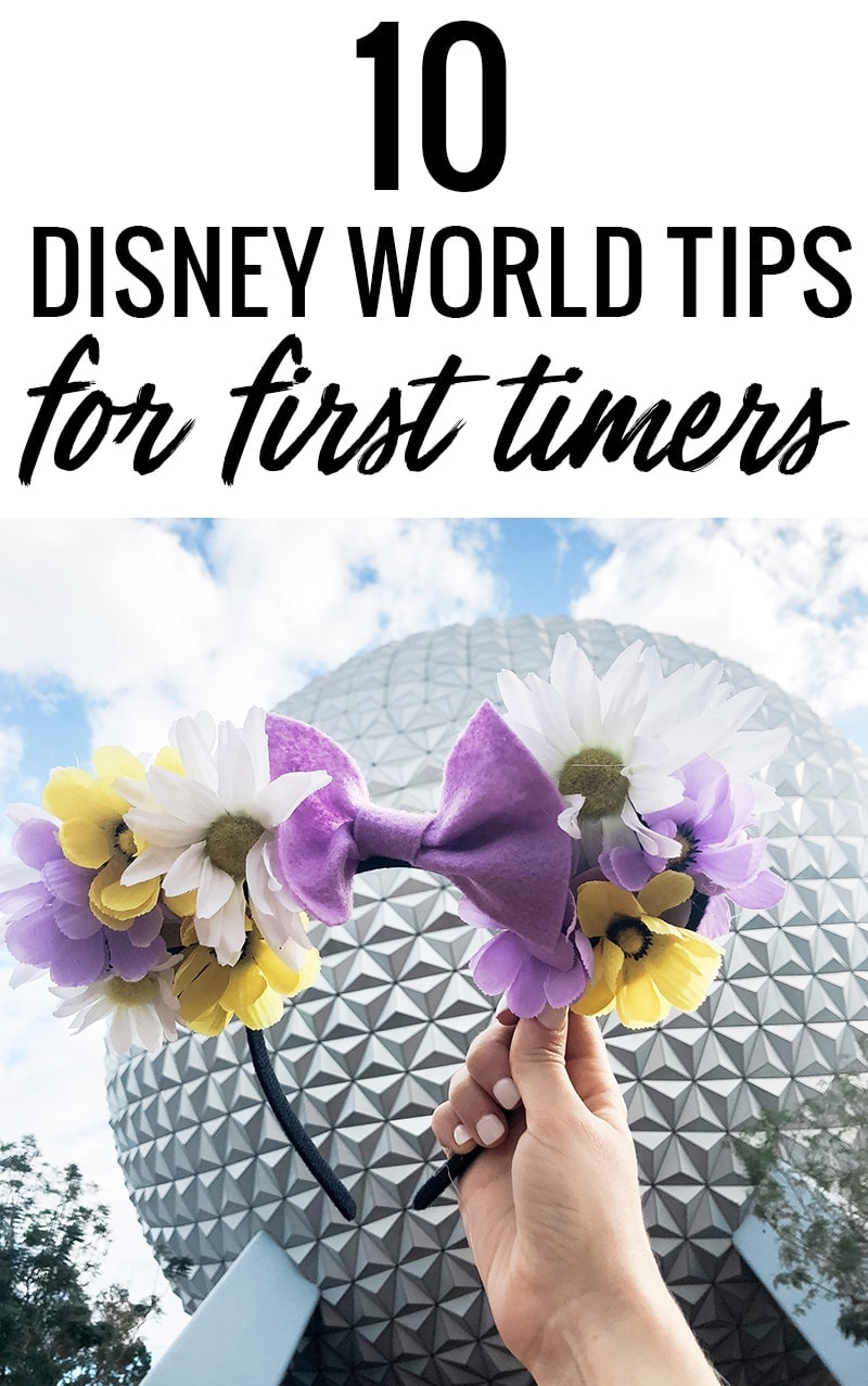 10 Disney World tips for first timers