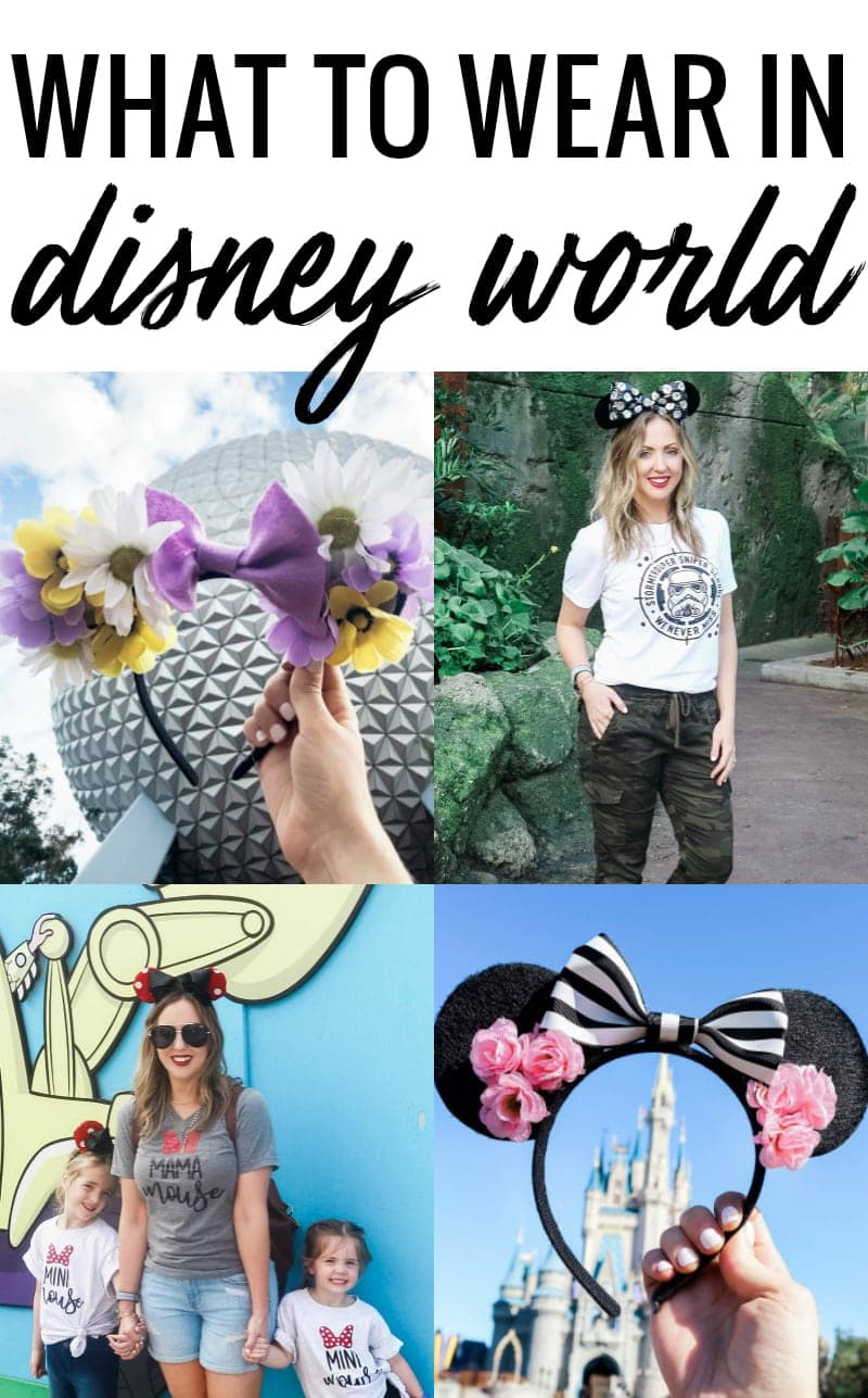 what to wear in Disney World - graphic tees, DIY ears, and more!