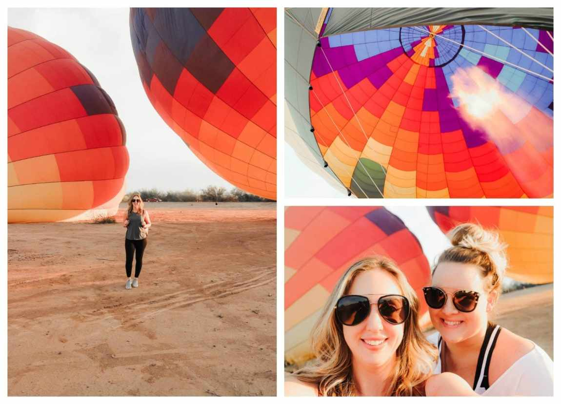 Hot Air Expeditions in the Phoenix Arizona area. As seen on Meg O. on the Go Scottsdale travel guide. Most amazing hot air balloon ride!