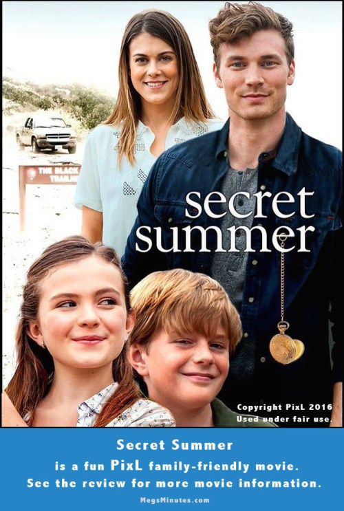 Meg's Movie Review of the 2016 movie Secret Summer starring Derek Theler | Read more about it at MegsMinutes.com