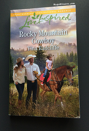 Book Cover for Tina Radcliffe's January 2017 release of Joe Gallagher's story, Rocky Mountain Cowboy