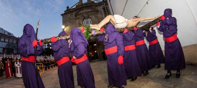 Tradición religiosa y turismo, protagonistas de la Semana Santa en Ferrol