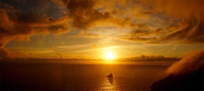 Costa da Morte, el último lugar donde se pone el sol en Europa