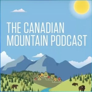 Canadian Mountain Podcast logo