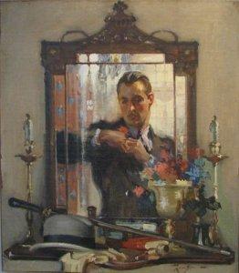 Leon Gordon Man in mirror