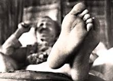Baba's foot