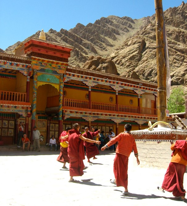 Dancing at the Monastery