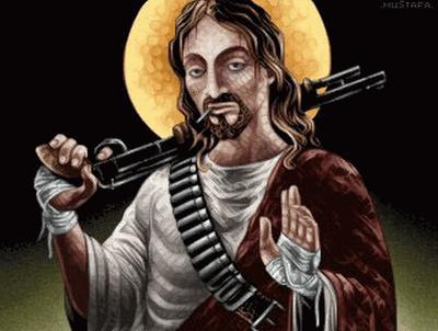 jesus armed