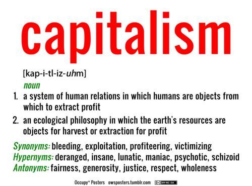 capitalism def