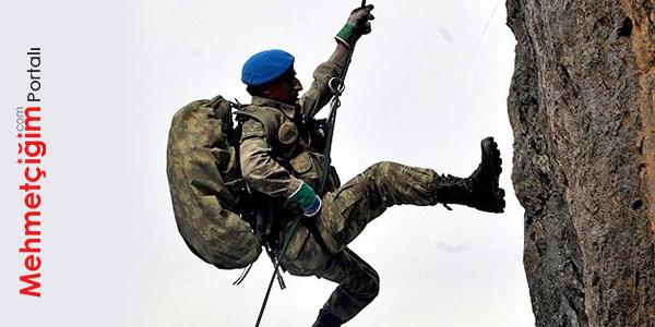mavi bereli komando tırmanış