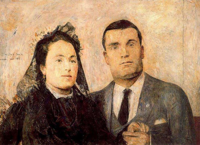 Resultado de imagen de antonio lópez garcía backs (man and woman)
