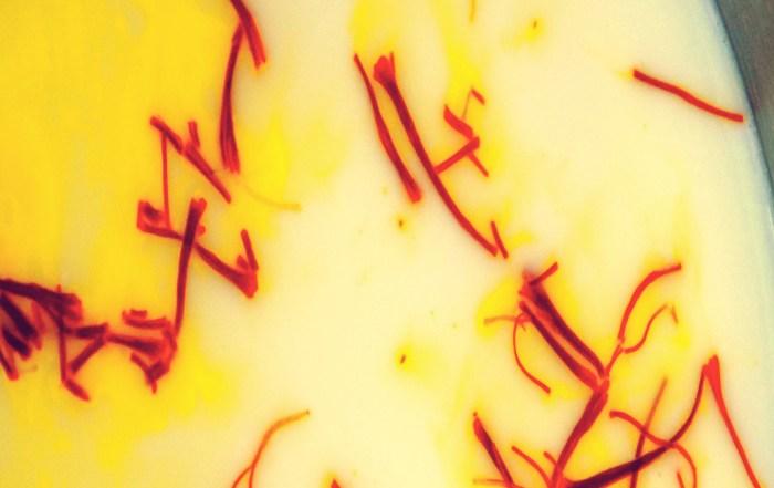 Saffron in Milk - Mehr Saffron