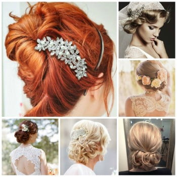 romantik gelin saçı 1