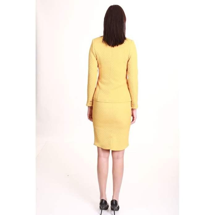Kadın Takım Elbise Sarı 1