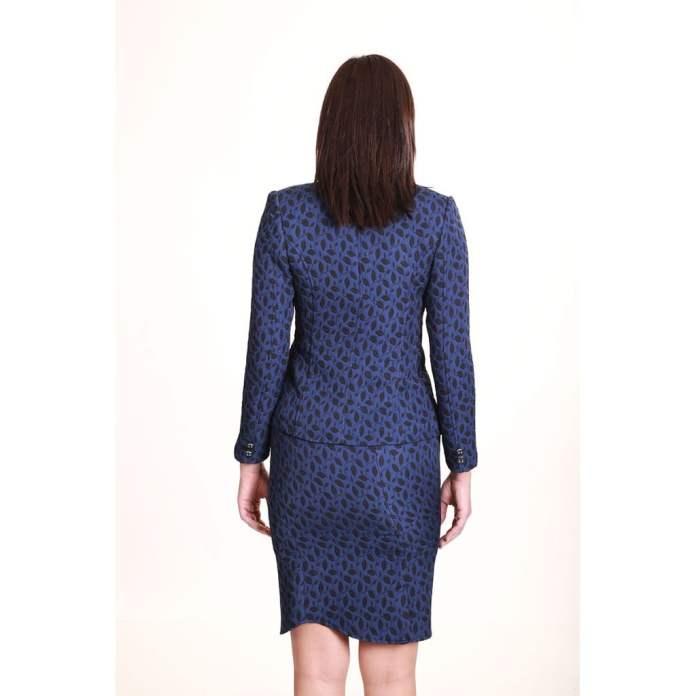 Takım Elbise Mavi Desenli 1