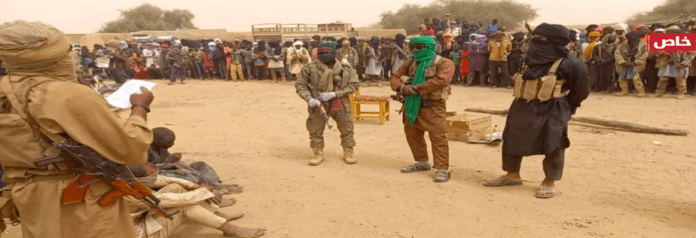 """""""Implementing Hudud Punishment Against Road Bandits in Northern Mali"""" in the al-Nabaa Media Weekly Newsletter Issue #287 (Source: Jihadology)"""
