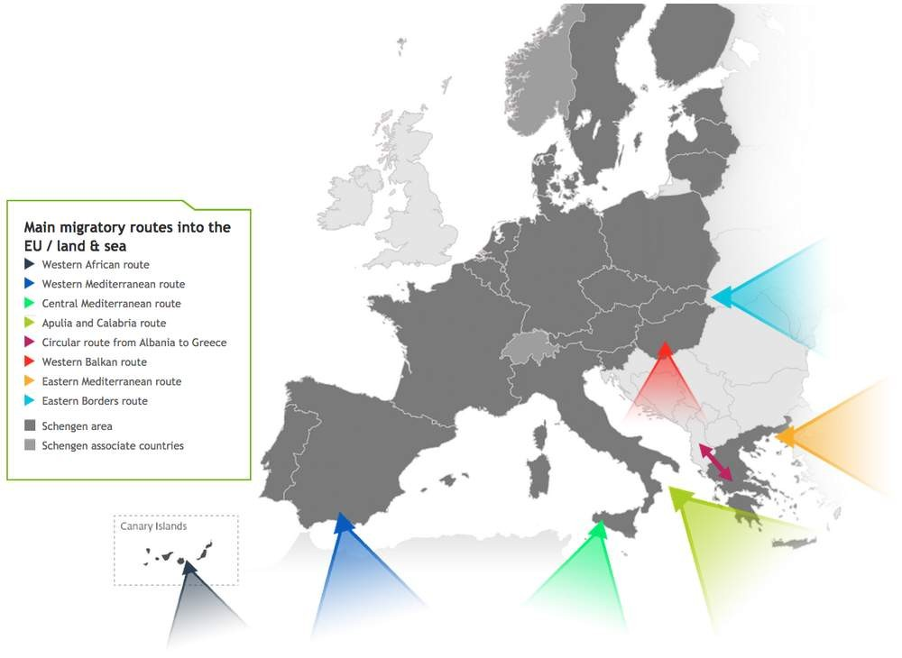 Graphic Tree Diagram Free Movement Border Control And Asylum In Europe