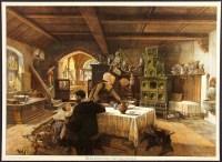 JOSEF KLEMM Antique&VeryRare 1905 German Chromolitho ...