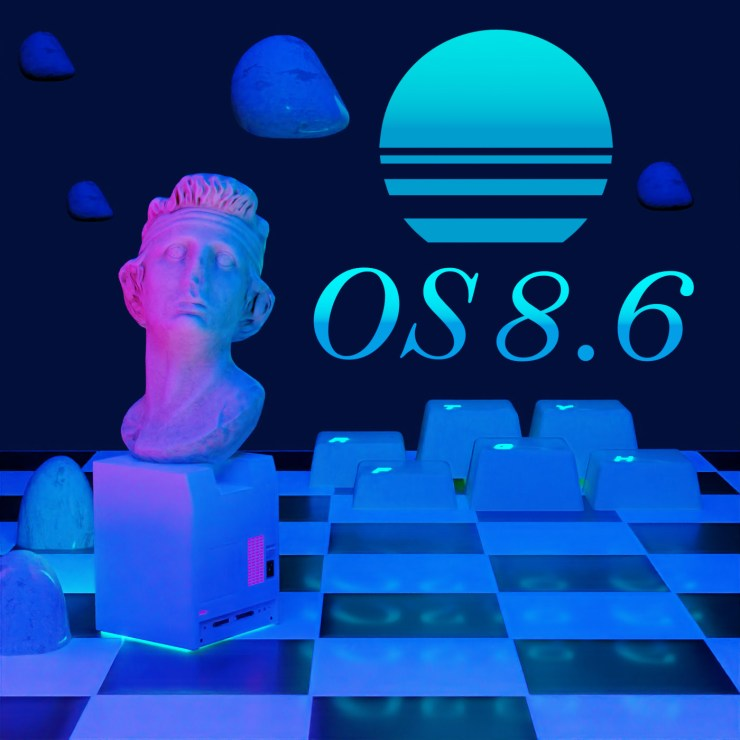 OS 8.6 in the night