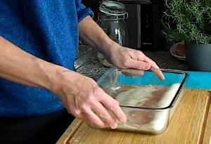 Schnitzel panieren