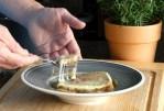 Zwiebelsuppe mit Käsecrouton