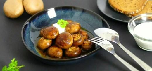 Champignons vom Weihnachtsmarkt