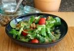 Kartoffeldressing für Feldsalat