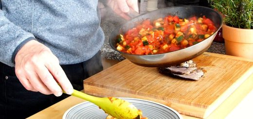 Paprika Zucchini Gemüse