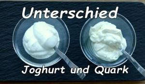 Quark und Joghurt Unterschied