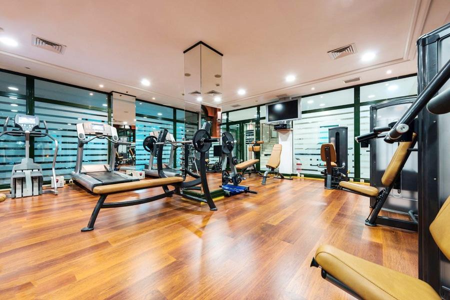 lantai vinyl jakarta pada tempat fitness