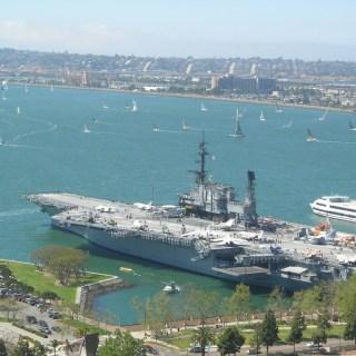 USS Midway Aircraft Carrier 中途岛号航空母舰