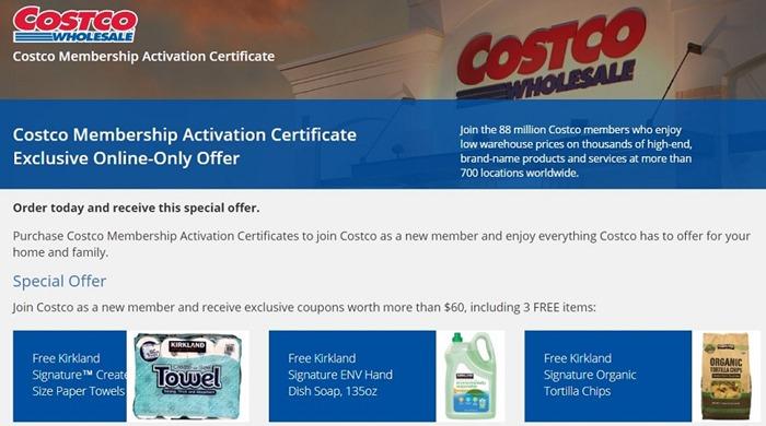 Costco 新会员办卡折扣优惠