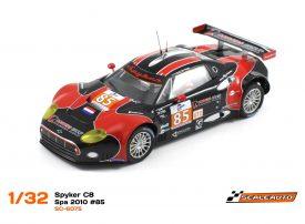 """Spyker C8 """"Laviolette"""" GT2R LeMans Series Spa 2010"""