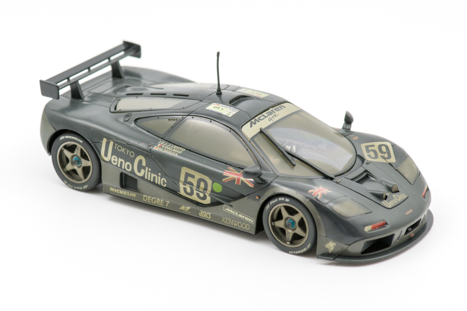 McLaren F1 GTR No.59 'Weathered' Le Mans 1995 Winner