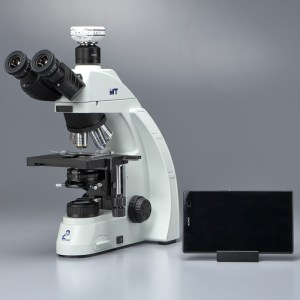 三眼生物顕微鏡 + Wi-Fi Cマウントカメラセット  MT-51/35/500-MC