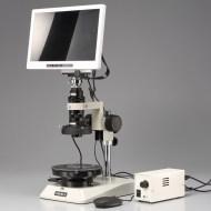 【スペシャリストシリーズ】ユニマック スタンドアロン・マイクロスコープセット 簡易偏光観察仕様(ズームレンズ式) MS-40DR/SAM1-P