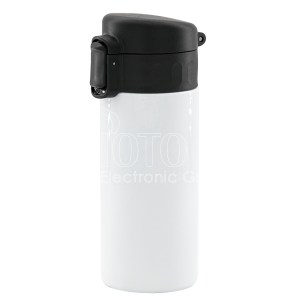 350ml Stainless Steel Water Bottle with flip top lid
