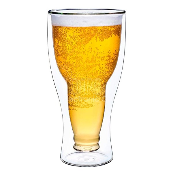 Promotional Double-Walled Beer Glasses
