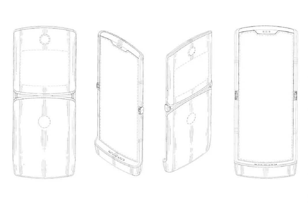 Nouveau smartphone pliable Motorola Razr 2019